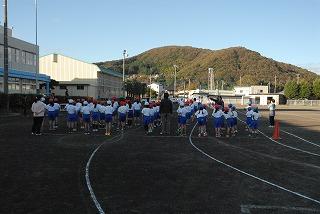 11月15日(金) 朝運動