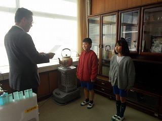 1月10日(金) 学級委員任命