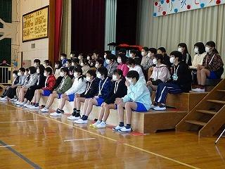 2月27日(木) ありがとう6年生の会