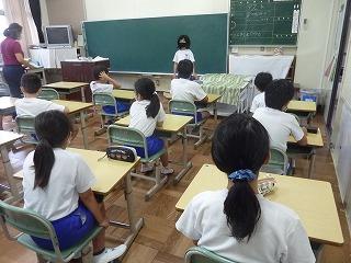 7月29日(水) 地区児童会