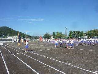 9月9日(水) 運動会練習