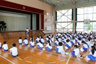 7月21日(水) 一学期終業式